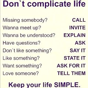 Other - Choose a SIMPLE life!!